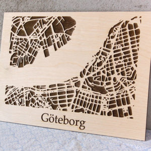 "laser map ""göteborg"" (gravyr)"